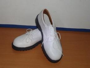 Giày bhlđ trắng đế keep's