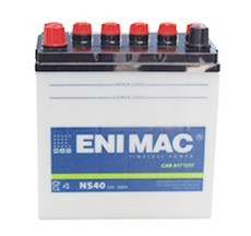 Ắc quy ENIMAC NS40