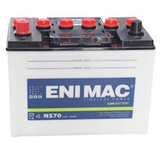 Ắc quy ENIMAC NS70