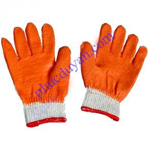 Găng tay len nhún nhựa 50G