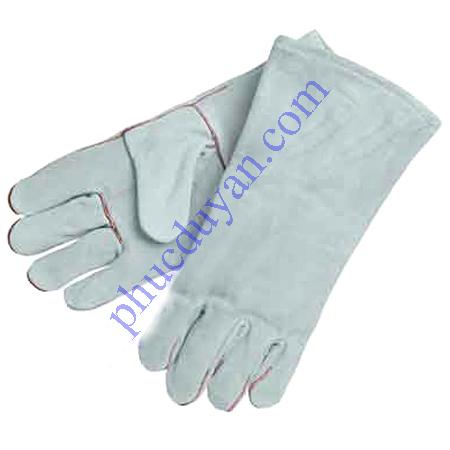 Găng tay da hàn - 2 lớp